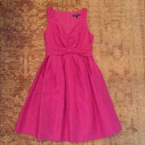 Fuchsia pink mad men dress